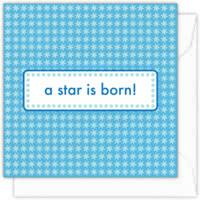 A star is born (boy)